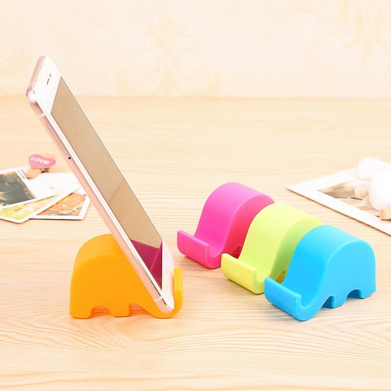 Cute elephant rack phone holders for Home deco