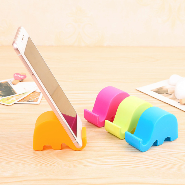 Cute elephant rack phone holders for Home deco