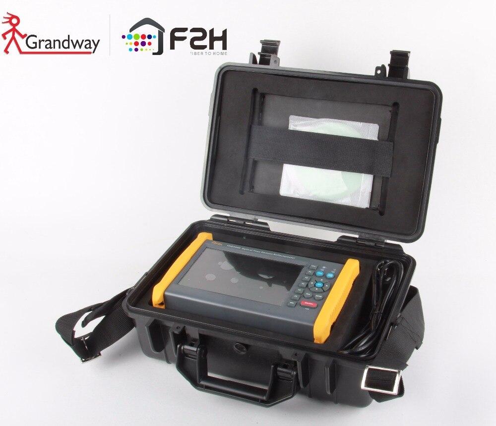 Grandway 3 Prueba fácil-caja de transporte adecuado para todos los FHO5000 serie OTDR con FHO5000-D26