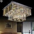 Персонализированные минималистичные современные светодиодные Хрустальные потолочные лампы для гостиной креативные потолочные светильни...