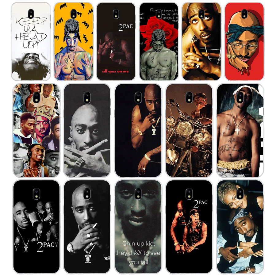 200a Tupac Amaru Shakur Makaveli Soft Silicone Tpu Cover Phone Case For Samsung Galaxy J3 J5 J7 2016 2017 Spare No Cost At Any Cost
