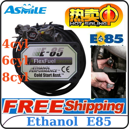 Asmile cold start asst kit bioethanol e85 compatible with 98% of gasoline vehicles 4cyl or 6cyl price e85 ethanol car conversion kit with 4cyl dhl ems free price from asmile