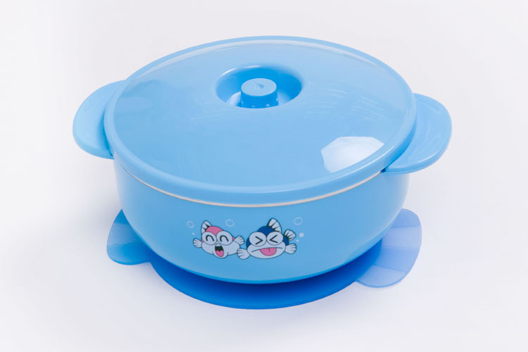 250ml stainless steel baby bowl baby bowl suction cup bowl baby tableware