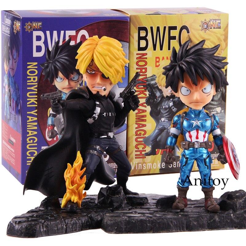 Toys & Hobbies Bwfc Banpresto World Figure Colosseum Yamaguchi One Piece Monkey.d.luffy Vinsmoke Sanji Action Figure Pvc Collectible Model Toy