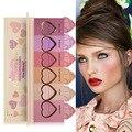Marca de Maquiagem Blush Em Pó Facial Palette de Longa Duração Natural Cosmestics Baked Bronzer Cheek Color Blush Em Pó 6 Cores