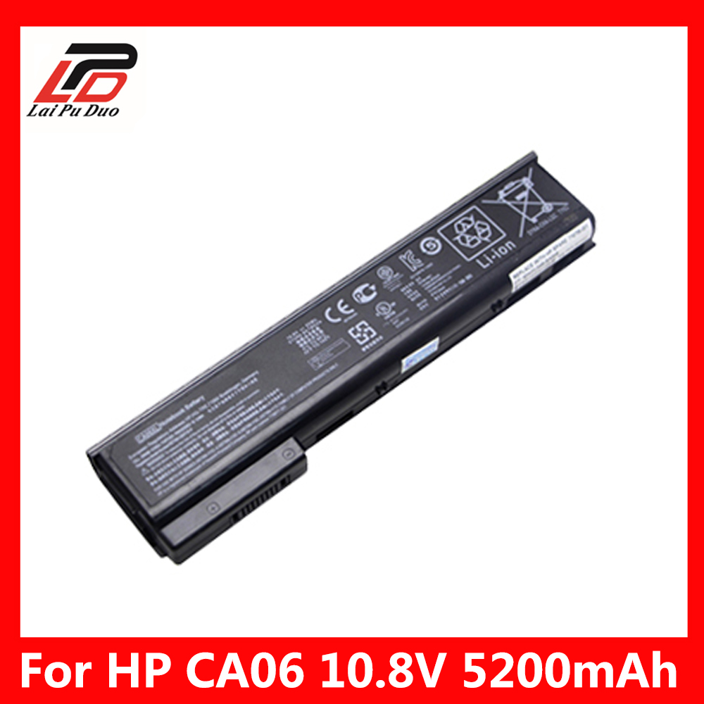 CA06 <font><b>5200mAh</b></font> Laptop Battery for HP ProBook 640 G1, 645 G1,655 G1 and 650 G1 Notebook PCs 718754-001 718755-001 718756-001 image