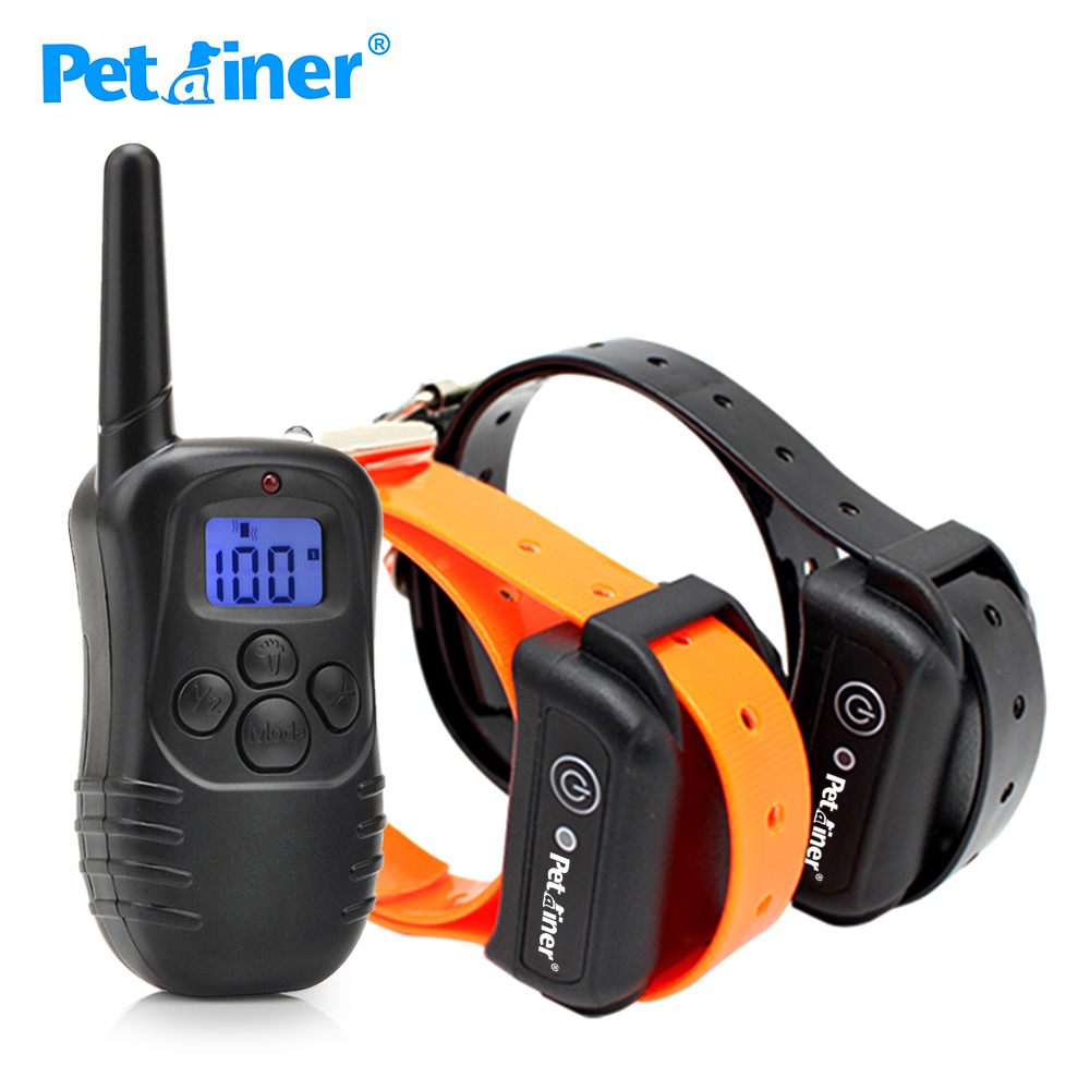 Petrainer 998DB 2 Dog Training Collar Manufacturer Remote Shock Collar for Small Dogs Positively and Harmlessly
