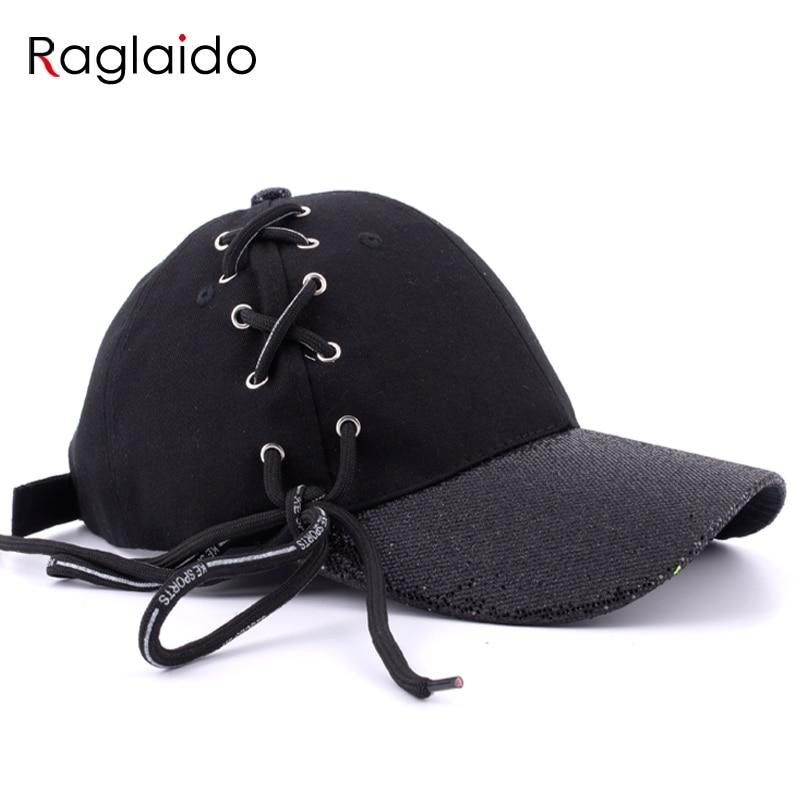 Raglaido Baseball Caps Women Men Unisex shining Brim Hat Snepbeck Fashion Casual Cotton Hats Adjustable Hiphop Snapback LQJ01287