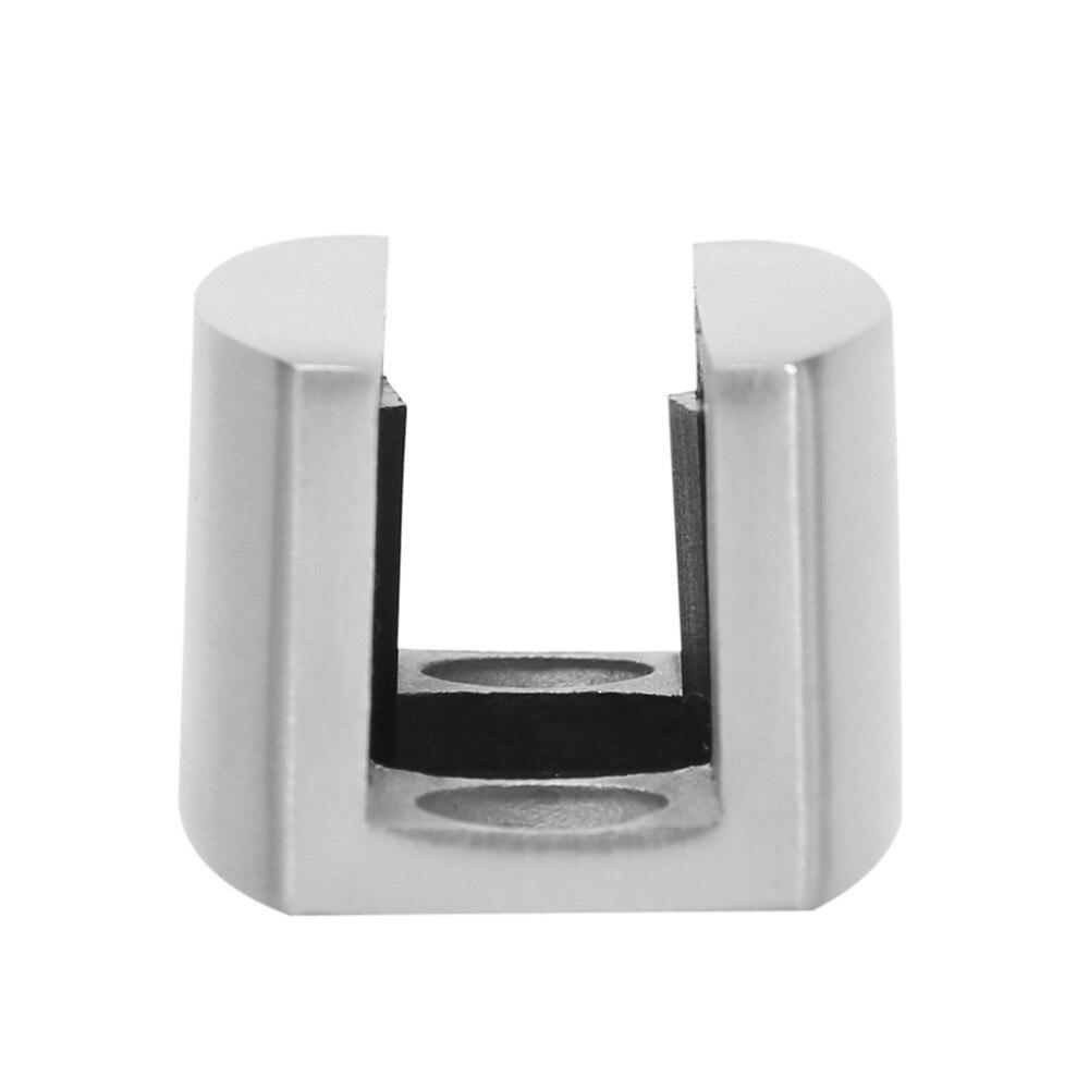 304 Stainless Steel Floor Bottom Guide Replacement For Frameless