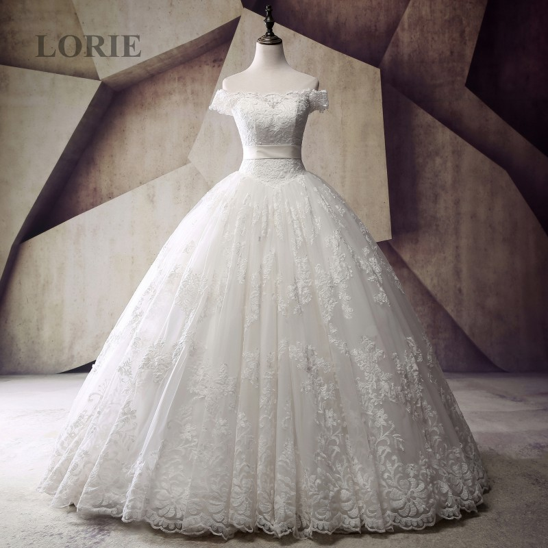 Luxury Latest Designs Wedding Dresses Victorian Ball Gown Boat Neck ...