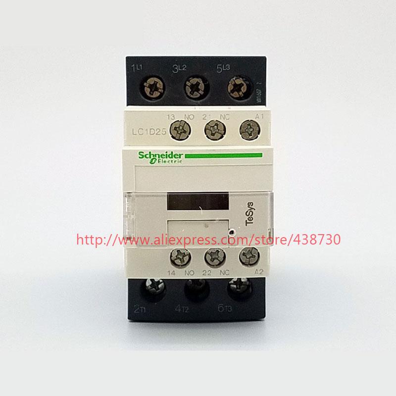 HTB1KpazQVXXXXX.XFXXq6xXFXXXe - 1pcs AC contactor LC1-D25M7C LC1D25M7C AC220V 24V110V 380V free shipping