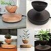 EU/US/AU Plug Levitating Air Bonsai Pot Magnetic Levitation Plants Planter Flower Pots Potted Succulent Plant Home Office Decor 6