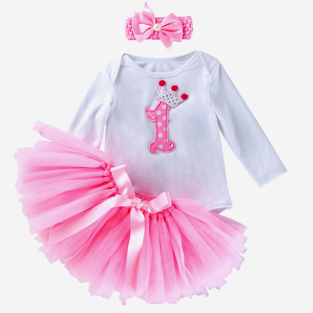 cf6c52a3f الأزياء طفلة ملابس الرضع بيبي الملابس مجموعة المعمودية ارتداءها توتو  التنانير مع عقال الأصلي المآزر الجسم الملابس
