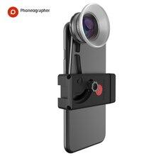 Phoneographer Lente Mobile Esterno ad alta definizione SLR set di mirror cellulare universale obiettivo Macro Lens wide angle lens