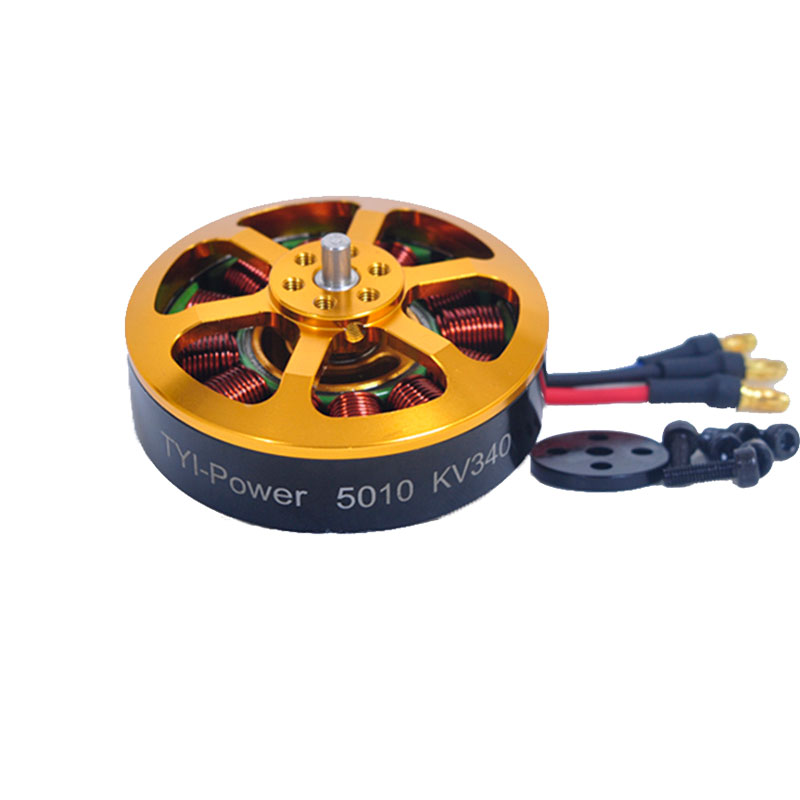 1/4/6/8 pcs 5010 Brushless Motor KV340  For RC Airplane Plane Multi copter Brushless Outrunner Motor-in Parts & Accessories from Toys & Hobbies