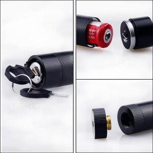 Image 3 - Puntero láser de alta potencia 532nm 303 verde lápiz puntero láser Ajuste de Encendido ajustable con batería recargable 18650