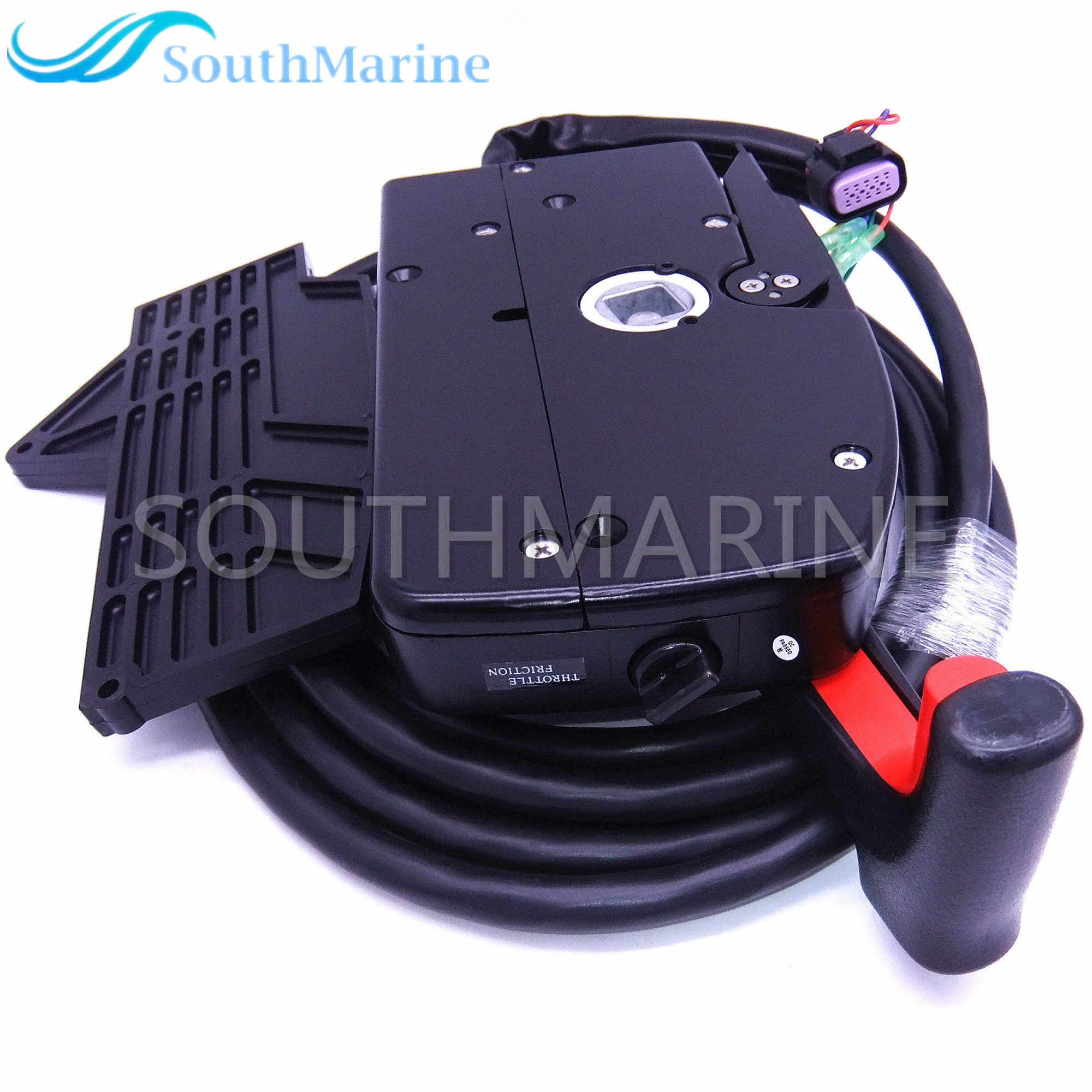 881170A13 Boat Motor Side Mount Remote Control Box With 14