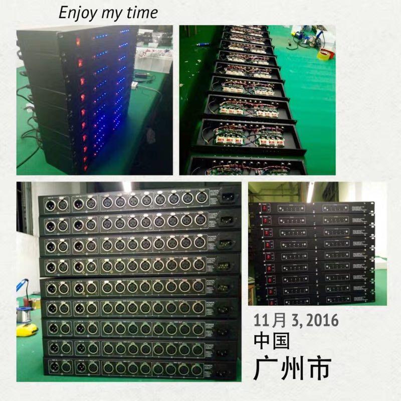 Updated Rasha DMX 8 Way(or DMX-4)Splittter DMX512 Distribution Amplifier RS-485 Light DMX Signal Splitter For Stage Lighting
