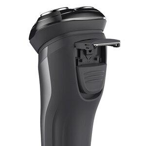Image 2 - SOOCAS ZO WIT Draadloze 3D Smart Drijvende USB Opladen Elektrische Scheerapparaat Scheermes IPX7 Waterdichte Blokkeren Bescherming Voor Mannen