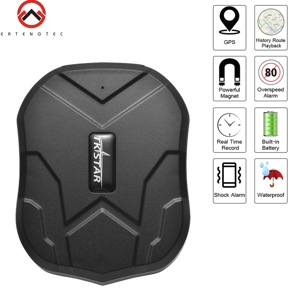 GPS Tracker Car 90 Days Standby Tkstar TK905 GPS Locator Waterproof GPS Vehicle Tracking 2G Magnet Voice Monitor Free Web APP(China)
