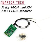 1 PCS Originele Frsky 16CH mini XM XM + PLUS Ontvanger voor Indoor FPV Kleine Quadcopter PWM SBUS Ultra  kleine grootte, ultralichte weig