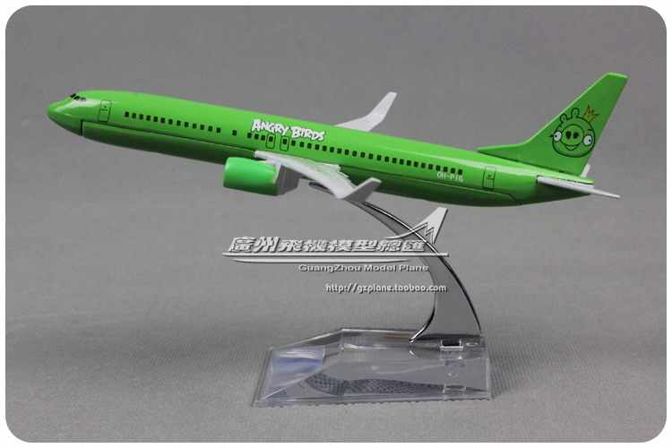 Brand New 1/250 Scale Airplane Model Toys Birds Pattern Boeing B737-800 16CM Length Diecast Metal Plane Model Toy For GIft