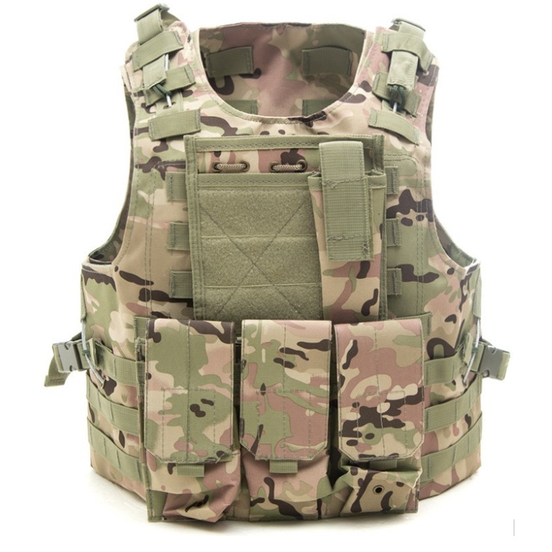 Tactical vest Airsoft Hunting sales USMC Airsoft Military Army Molle Combat Assault Plate Carrier Vest Tactical vest 10 Colors