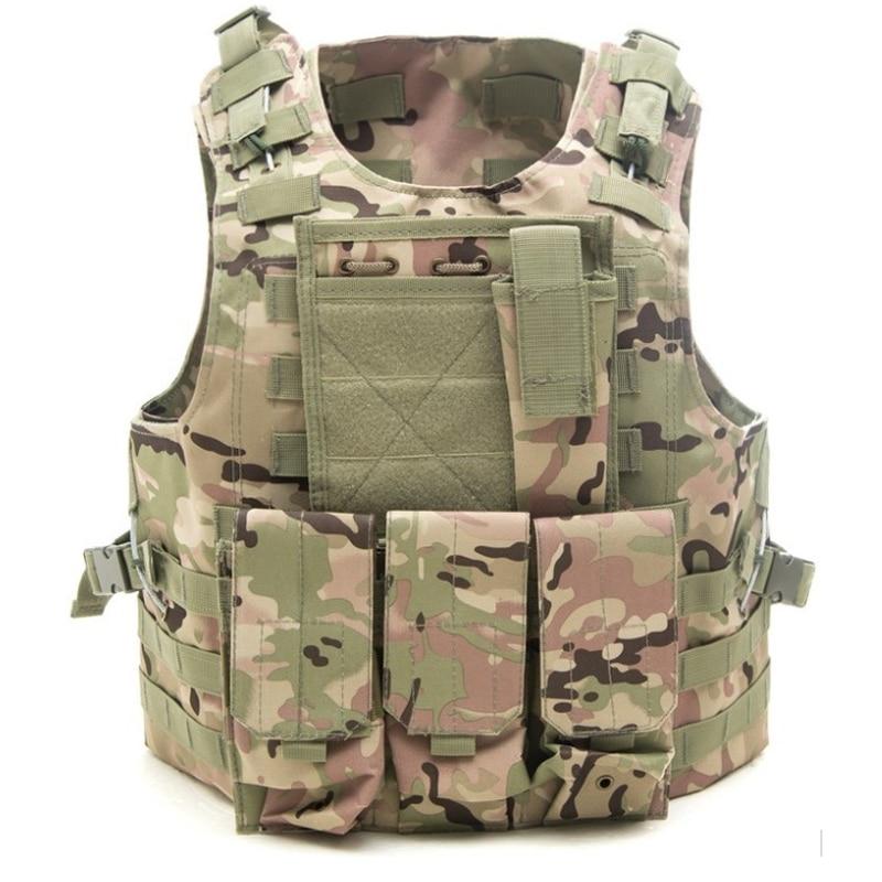 Tactical vest Airsoft USMC Hunting sales colete Military Army Molle Combat Assault Plate Carrier Vest Tactical vest 10 Colors
