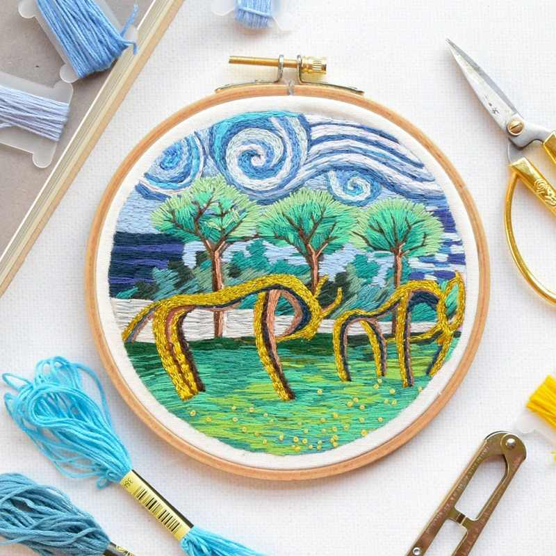 13/16/18/20/23/27/30/33cm Embroidery Hoops Frame Set Bamboo Wooden Embroidery Hoop Rings for DIY Cross Stitch Needle Craft Tool