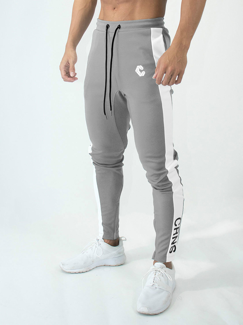 Mens Joggers Casual Pants Fitness Men Sportswear Bottoms Skinny Sweatpants Trousers Fashion Gyms Jogger Track Pants 26