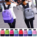 2017 Fashion Canvas Backpacks for Teenage Girls Middle School Students School Bag Women Men Laptop Backpack
