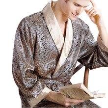 Настоящих pijamas геометрическая шелк v-образным халаты искусственный роскошный трикотажные вырезом халат