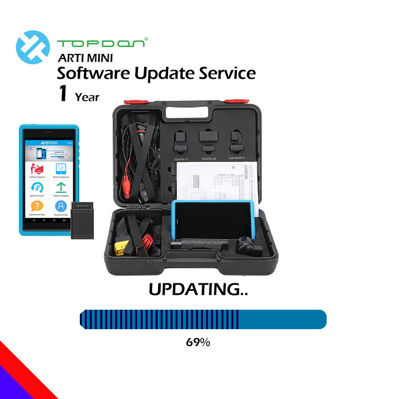 TOPDON ArtiMini Update Service for 1 Year OBD2 Code Reader Diagnostic Tool Update service TOPDON