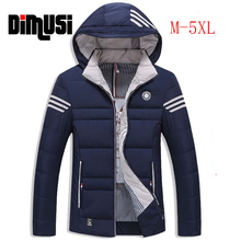 Winter Jacket Men 2016 Plus Size M-5XL Male Hoodie Winter Coat Mens Down Jacket Slim Fit Outwear Windbreaker Thick Parka Hoodied