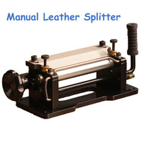 New Manual Leather Splitter Leather Skiver Leather Peel Tools Shovel Skin Machine Vegetable Tanned Leather Peeler