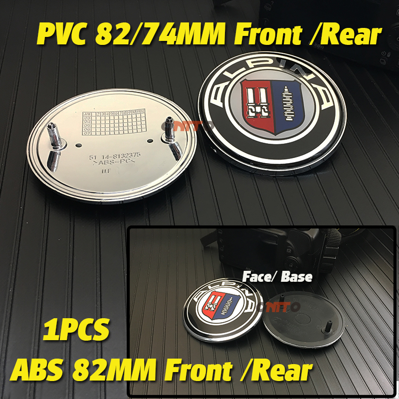 82mm 74mm Car Emblem Badge Hood Front Trunk Logo Bonnet <font><b>stickers</b></font> For E46 E30 E39 E34 E60 E36 E38 M3 M5 M6 E90 F30 E53 <font><b>F10</b></font> F20 image