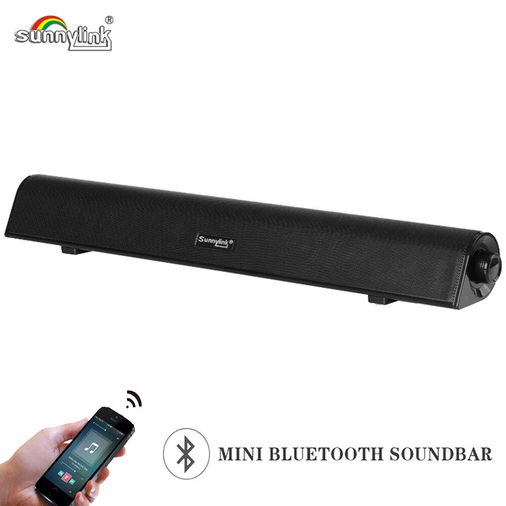 MINI barre de son HIFI BLUETOOTH, haut-parleur de barre de son SUBWOOFER/haut-parleur de barre de son d'ordinateur, avec des basses lourdes pour TV/PC/téléphones intelligents