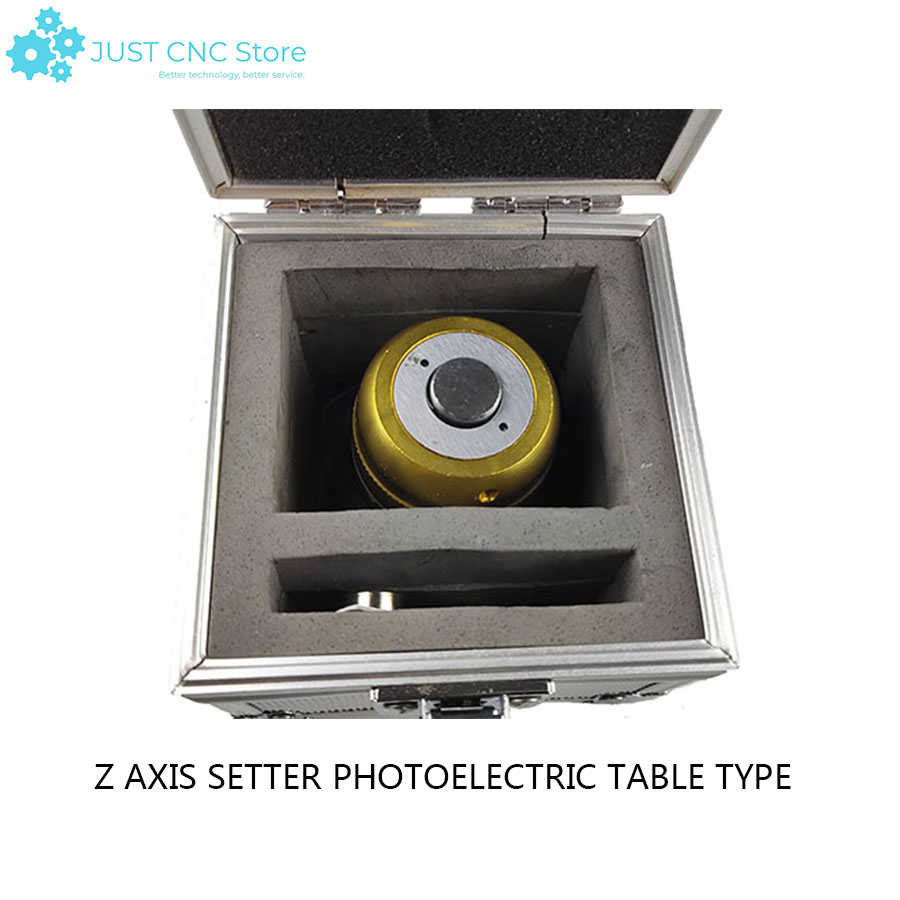 Z axis setting device with table tool CNC photoelectric