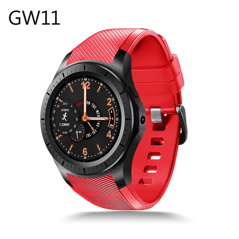 New Bluetooth Smart Watch GW11 Support 3G Sim Card WiFi GPS Heart Rate Fitness Tracker MTK6580 Android 5.1 Quad Core SmartWatch fs08 gps smart watch mtk2503 ip68 waterproof bluetooth 4 0 heart rate fitness tracker multi mode sports monitoring smartwatch