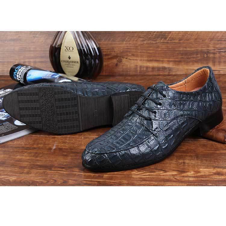 Angleterre De Robe Homme Black Hommes Cuir blue Affaires Véritable Oxford Mâle Chaussures Loisirs En brown Mariage Mocassins Appartements Luxe SqVUGzpM