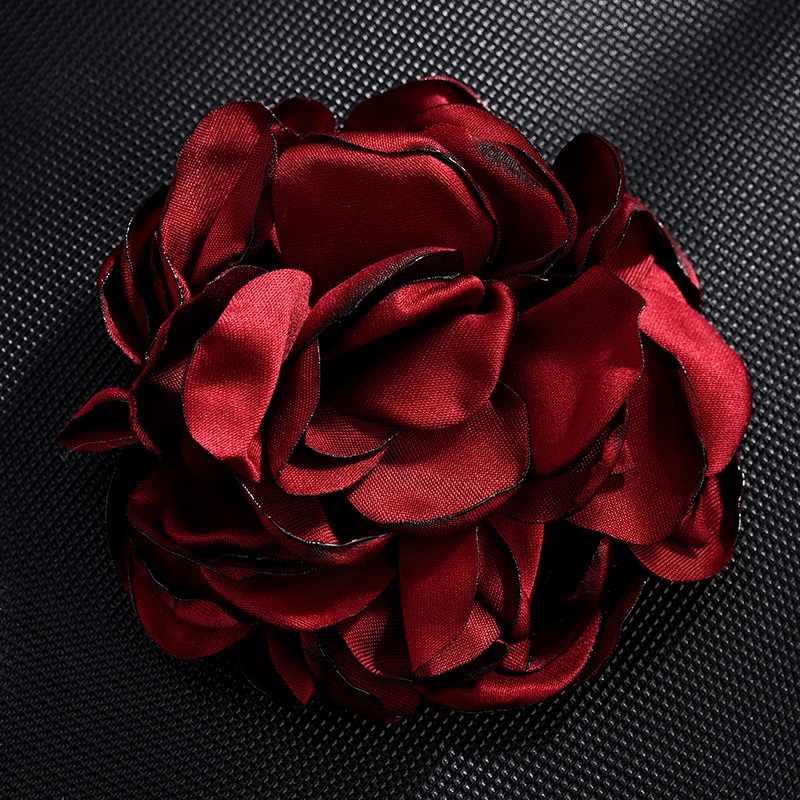 Hot Randen Rose Bloem Stof Hanger Eeuwige Bloem Accessoires Haar Accessoires Materiaal DIY Zak Bloem Sleutelhanger