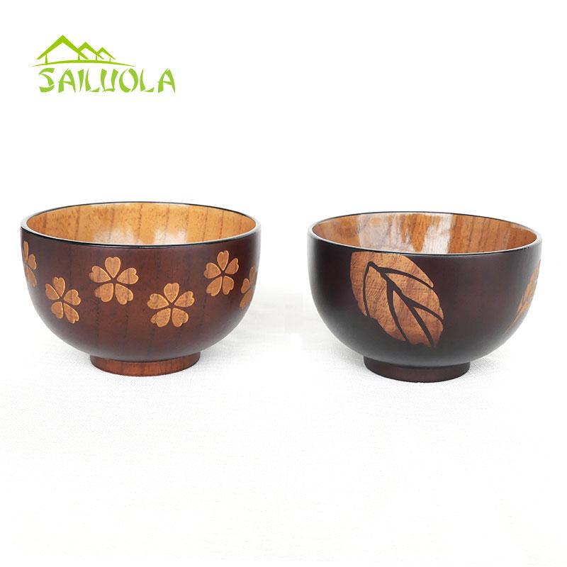 1 개 새로운 꽃 대추 나무 수프 그릇 일본식 쌀 샐러드 그릇 꽃 나무 식기