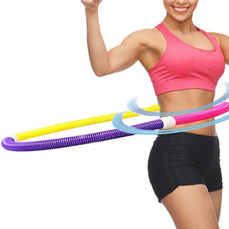 1Pc Soft Hula Hoop Weighted Sport Spring Slimming Thin Waist Fitness Health Care Hot