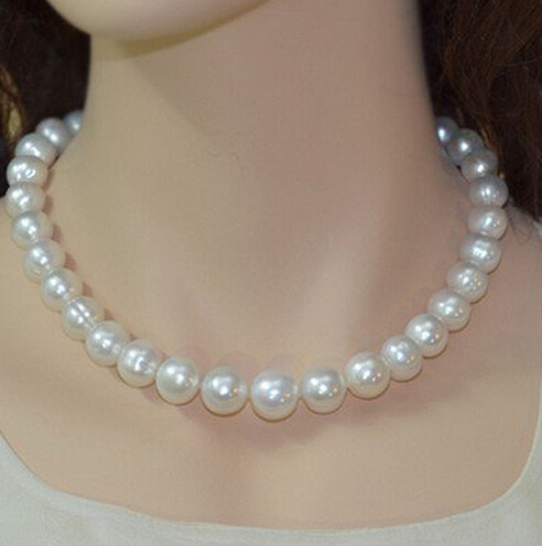 hot-selling +++429 Counter genuine natural pearl necklace in the circle of freshwater pearls edi genuine natural freshwater pearls 5mm 100