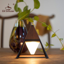 GX Diffuser LED Desk Lamp Chargeable Table Portable Dimmable Touch Book Light USB Charging Reading