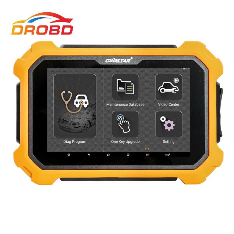OBDSTAR X300 PAD2 X300 DP Plus wsparcie programowanie ecu inteligentny klucz korekta licznika z adapterem P001 A B C wersja