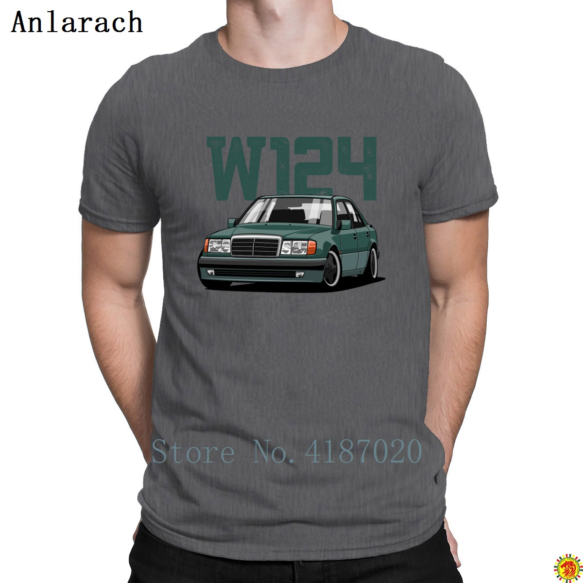 W124 T-Shirt Funny Casual Hip Hop Standard Size S-3xl T Shirt For Men Great Spring Autumn Designing Anlarach Hot Sale