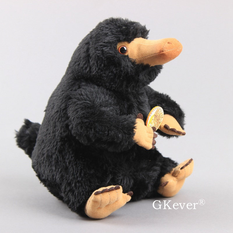 Fantastic Beasts And Where To Find Them Niffler Plush Toy Fluffy Black Duckbills Cute Soft Stuffed Animals 8'' 20 Cm Kids Gift