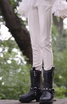 [ Wamami ] 77 # белые кожаные брюки / брюки SD DOD 1/3 бжд Dollfie