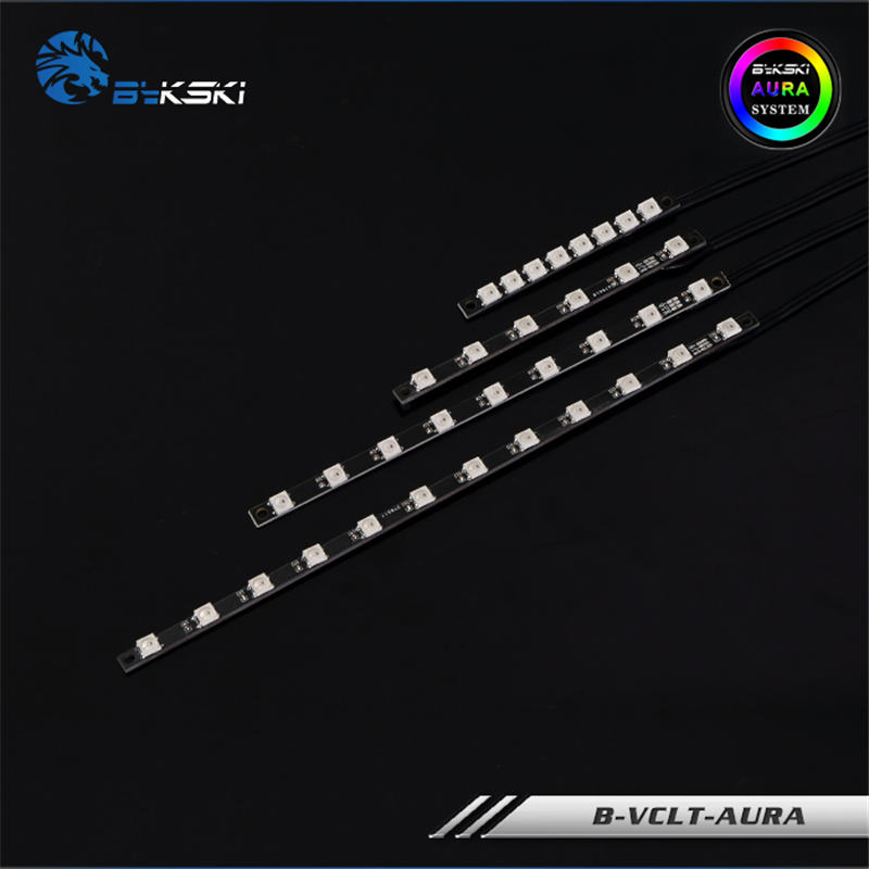 Bykski RGB Strip For Water Cooling Block 5V Or 12V LED Support MOBO AURA SYNC 70-200MM